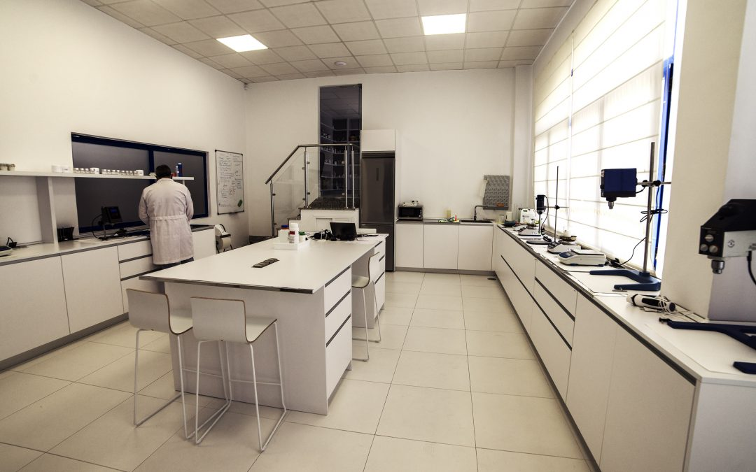 Nuevo laboratorio de investigación y desarrollo.